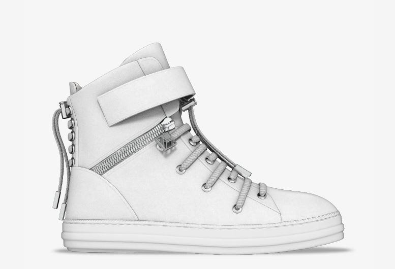 Farfetch Regent hi-top sneaker